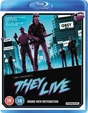 They Live Blu-Ray (2018) Roddy Piper, Carpenter (DIR) cert 18 2 discs ***NEW***