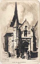 Chapelle Notre-Dame -de- la-Clarté Perros-Guirec Côtes-d'Armor Charles Jaffeux