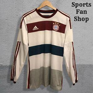 AUTHENTIC Bayern Munich 2014/2015 Away Sz 7 Adidas Adizero shirt jersey soccer L