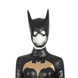 DFYM Batman Arkham Knight Batgirl Leather Mask Helmet for Halloween Cosplay Prop