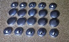 50 X  Metal Self Cover Buttons 16mm Sewing Fabric Cover New