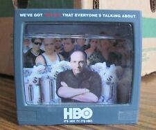 Sopranos mini television set snow globe Nice 2000