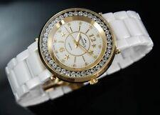 BISSET BSPD74 WORLD STAR Keramik SWISS MADE Damenuhr Armbanduhr