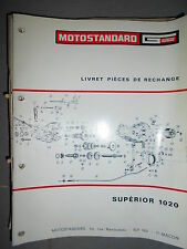 Motostandard Gutbrod tracteur SUPERIOR 1020 : catalogue pièces
