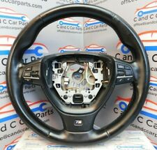 BMW 5 Series Steering Wheel M Sport in Black Leather F10 Pre LCI 13/3