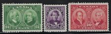 CANADA  1927 Sct #146-#148, Mint/LH  Complete Set  Full Original Gum Very Fine