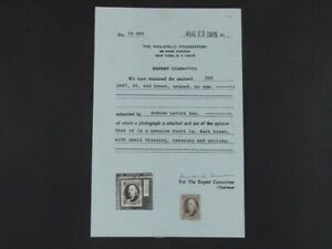 Nystamps US Stamp # 1 Mint NG $2300 PF Certificate a10xs