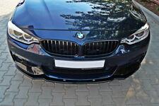 BMW F32 F33 M Sport Front Bumper lip spoiler chin Power skirt splitter valance