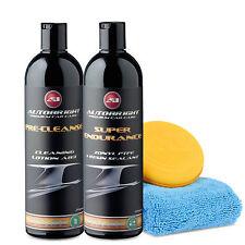 Autobright Car Wax Car Cleaning Polish Paint Sealant PTFE Kit Motor Home Caravan