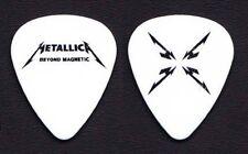 Metallica Beyond Magnetic White Guitar Pick - 2012 Tour