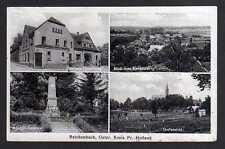 95867 AK Reichenbach Ostpreußen Kr. Pr. Holland 1938 Gasthaus Hasselberg Krieger