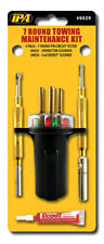 IPA 7 Round Pin Trailer Plug Tester & terminal Cleaner Maintenance Kit #8029