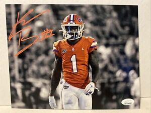 Kadarius Toney Signed Florida Gators 8x10 Photo JSA