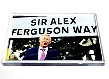 Manchester United Magnet Sir Alex Ferguson Way Football Gifts