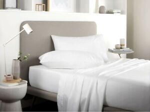 Sheridan 500 Thread Count Tencel® White Cotton Pillowcase Pairs