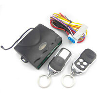 Car Universal Remote Control Central Door Lock Kit Locking Keyless Entry System