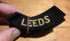 A bundle of unissued WW2 British ARP Civil Defence Badges for LEEDS.