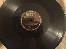 10 Decca Records 78 Rpm - Al Jolson, Andrew Sisters, Bing Crosby & more