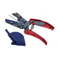 Expo Hand Held Mitre Guillotine Hand Cutter Cuts Wood / Plastics Up To 12mm