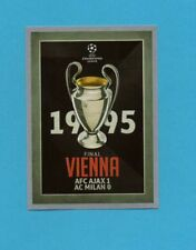 TOPPS-CHAMPIONS 2015-2016-Figurina n.587-FINALE-1995-VIENNA-NEW