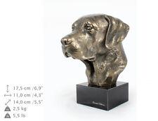 Labrador Retriever, dog bust marble statue, ArtDog , CA