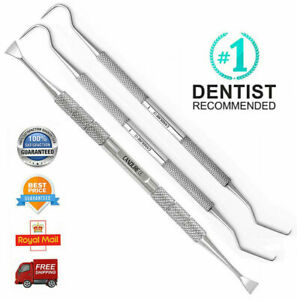 Dental Kit Tooth Cleaning Pick Scraper Plaque Remover Dental Floss Instruments.