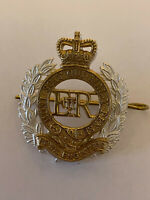 Royal Engineers Officers Cap Badge No1 / No2 Dress Cap RE SAPPER British Army