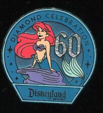 DLR 60th Diamond Celebration Girls Mystery Ariel Disney Pin 109282
