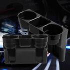 Multi-function Car Accessories Central Storage Box Drink Cup Holder Organizer 1x
