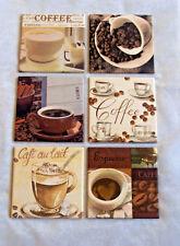 6 Kaffeebilder/Küchenbilder/Kaffee Bilder,Cafe,Coffee, Cappuccino, Espresso Nr.2