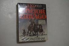 Boris Pasternak - Paul Scofield Reads Doctor Zhivago 2 Cassette Audiobook SEALED
