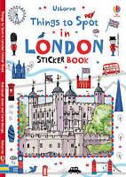 Things to Spot in London Sticker Book by Usborne Publishing Ltd (Paperback,...