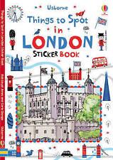 Things to Spot in London Sticker Book by Usborne Publishing Ltd (Paperback, 2015)
