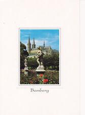 AK 96052 Bamberg - im Rosengarten
