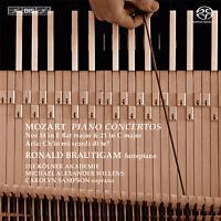 Mozart: Piano Concertos Nos. 14 & 21, New Music