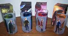 Set of 4 STAR TREK COLLECTIBLE GLASSES - 2009 - NEW / BOXED!