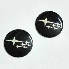 2 x 14mm SUBARU Replacement Key Fob Badge Sticker