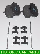 Set of Disc Brake Pads Split Pins Retainers for Vauxhall Victor FB Series 62-64