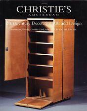 Christie's Amsterdam 20th Century Decorative Arts Design de Bazel Copier Berlage
