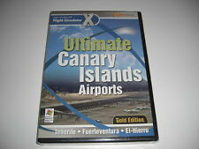 Ultimate Islas Canarias aeropuertos Oro PC Add-On Flight Simulator Sim X FSX Nuevo