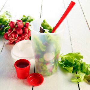Salat-To-Go-Becher-Gabel-Dressing-Gesunde-Ernaehrung-Behaelter-Fruechte-Shaker