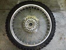 """2010 Honda CRF450R Front Wheel OEM 21"""" DID Rim Hub Disc CRF 250 R X 125 450 CR"""