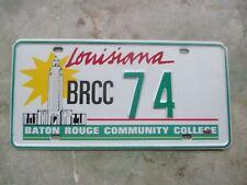 Louisiana Baton Rouge Community College license plate   #  74