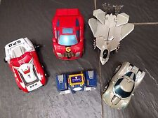 POWER RANGER MEGAZORD GO BOTS CAR TITANIUM SOUNDWAVE REVENGE FALLEN TRANSFORMER