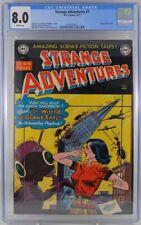 Strange Adventures #7 CGC 8.0 1951 White Pages
