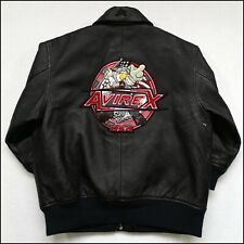 """Avirex """"Sky Boss"""" Leather Jacket 