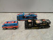 MATCHBOX RACING TRANSPORTERS # 28 AND # 43