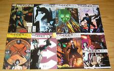 Trigger #1-8 VF/NM complete series - sleeper agent - vertigo comics 2 3 4 5 6 7