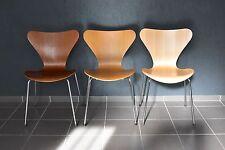 1x vintage Fritz Hansen Stuhl 3107 Teak Arne Jacobsen chair Stapelstuhl 44cm