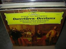 KARAJAN / BEETHOVEN overtures ( classical ) dgg